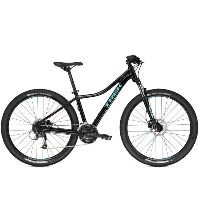 Velo VTT Cross Country Femme- Trek Cali S Disc- Noir vert