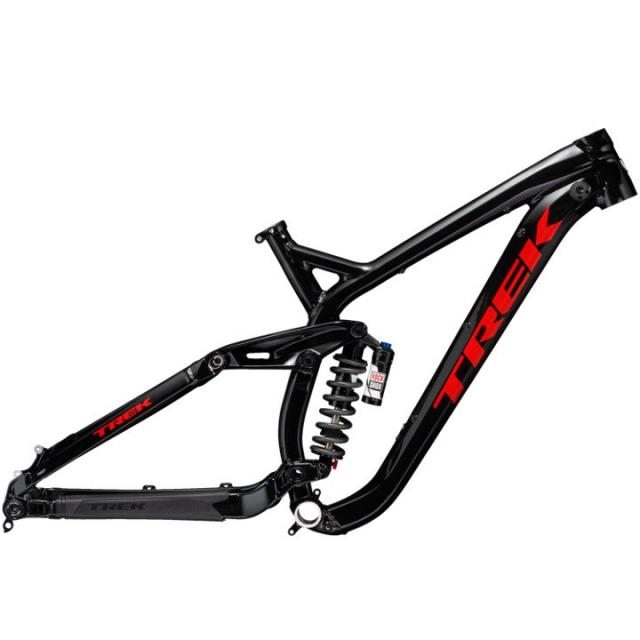 KIT CadreVelo Descente-Trek SESSION Alu 27.5-  Noir Rouge