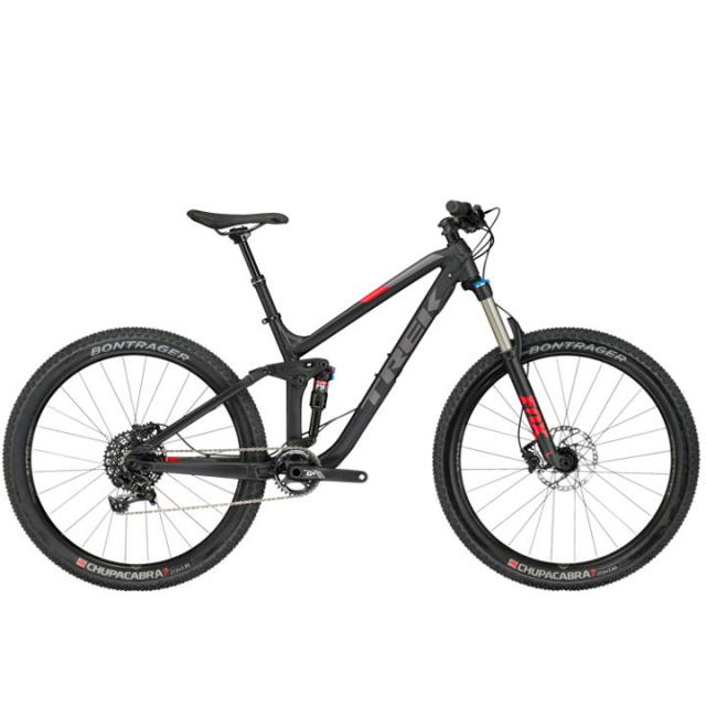 Vélo VTT All-Mountain-Trek FUEL EX 8 27.5 PLUS- Noir Matt