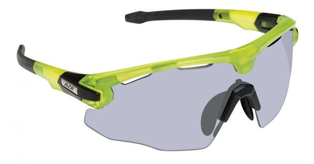Lunette Cycliste  Ecran Photochromique- AZR Flash RX- Volt Green
