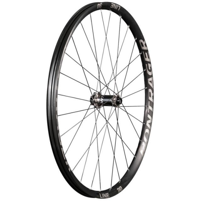 Roue Avant VTT 29 Pouces- Bontrager Trek Line Elite 30 Disc TLR  Boost-NEW- Anthracite Noir