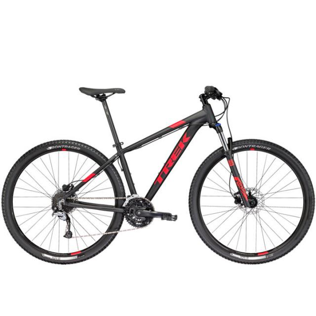 Velo VTT Semi-rigide-Trek MARLIN 7- Noir Matt/Rouge