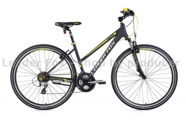 Velo Tout Chemin, VTC-Leader Fox VIATIC Lady 28'' -2017- Grey matt Jaun