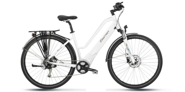 Velo Electrique- Bh ATOM DIAMOND City WAVE ER 418-Brose-500W-  Blanc